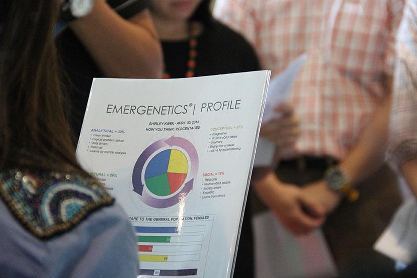 Emergenetics Training Workshop Singapore | Positive Productive Cultures